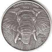 1000 Francs (Bullion Coinage - Elephant) – reverse