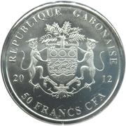 50 Francs (Nelson Mandela) – obverse