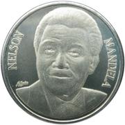 50 Francs (Nelson Mandela) – reverse