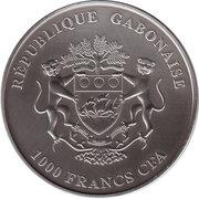 1000 Francs (Baby Elephants) – obverse