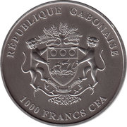 1000 Francs (Snake) – obverse