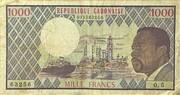 1000 Francs – obverse