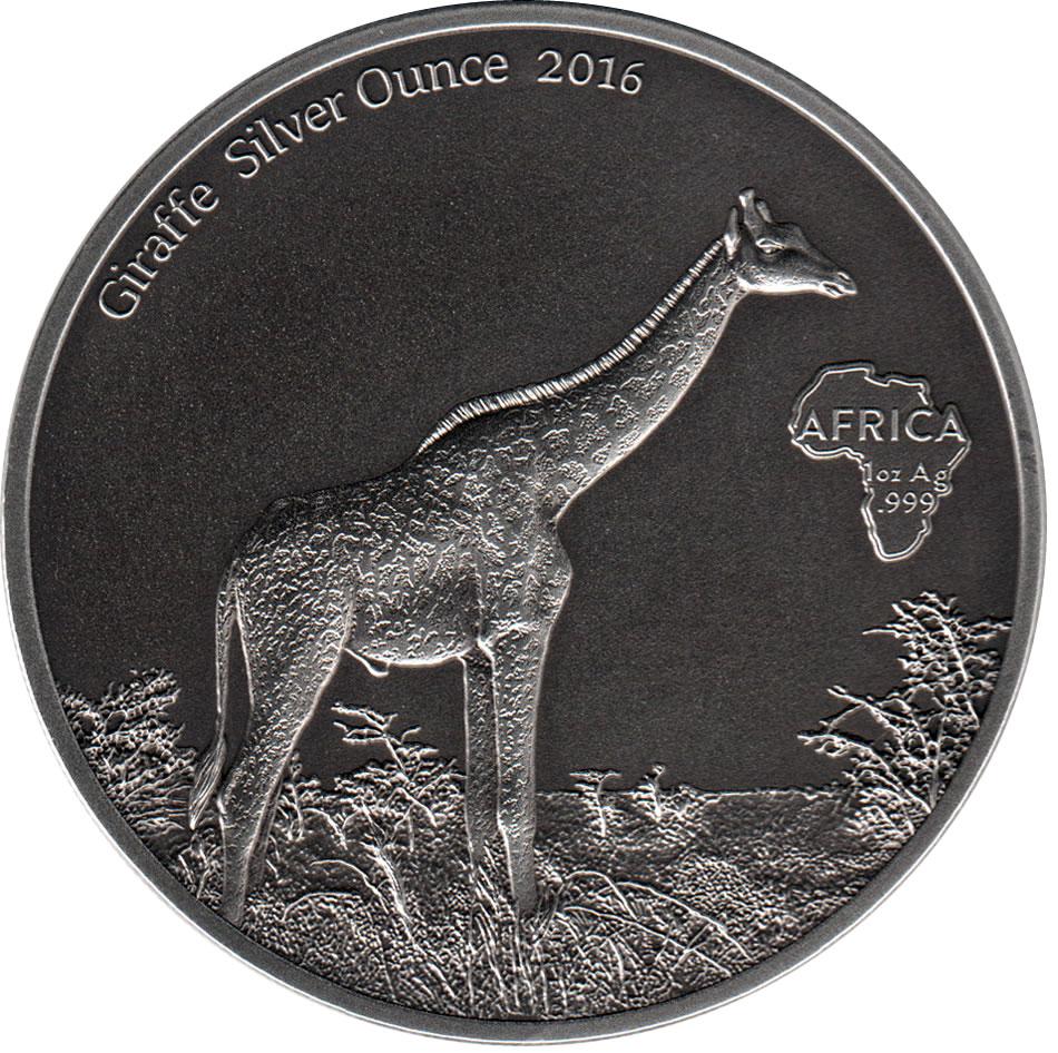 1000 Francs Cfa Giraffe Gabon Numista