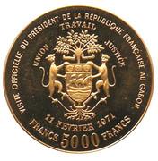 5000 Francs (Georges  Pompidou - essai) – reverse
