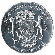 1000 Francs (Silver Bullion Coinage) – obverse