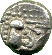 Gadahaiya Paisa (Paramaras of Malwa or Silaharas of Kokan) – obverse
