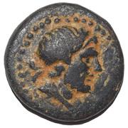 Bronze Æ16 - Amyntas – obverse