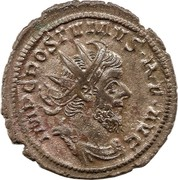 Antoninianus - Postumus (FIDES MILITVM) – obverse