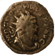 Antoninianus - Postumus (P M TR P CO-S II P P) – obverse