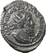 Antoninianus - Postumus (MONETA AVG; Cologne) – obverse