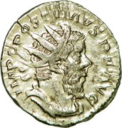 Antoninianus - Postumus (HERC PACIFERO) – obverse