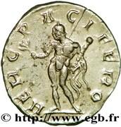 Antoninianus - Postumus (HERC PACIFERO) – reverse