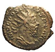 Antoninianus - Postumus (PM TR P III COS III PP; Mars) – obverse