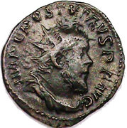 Antoninianus - Postumus (VICTORIA AVG) -  obverse