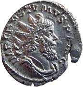 Antoninianus - Postumus (NEPTVNO REDVCI; Treveri) – obverse