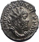 Antoninianus - Postumus (MONETA AVG; Lugdunum) – obverse