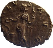 Antoninianus - Victorinus (SALVS AVG; Cologne) -  reverse