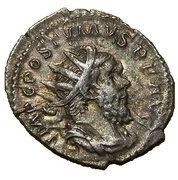 Antoninianus - Postumus (PM TRP IIII COS III PP) – obverse
