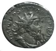 Antoninianus - Postumus (MINER FAVTR; Lugdunum) – obverse