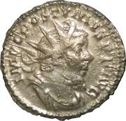 Antoninianus - Postumus (VIRTVS AVG; Mars; Lugdunum) – obverse