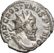 Antoninianus - Postumus (PM TRP COS II PP) – obverse