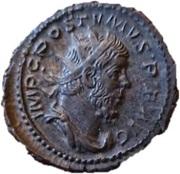 Antoninianus - Postumus (LAETITIA AVG; Lugdunum) – obverse