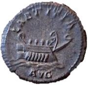 Antoninianus - Postumus (LAETITIA AVG; Lugdunum) – reverse