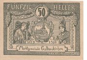 50 Heller (Gallneukirchen) – obverse