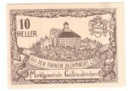 10 Heller (Gallneukirchen) – obverse