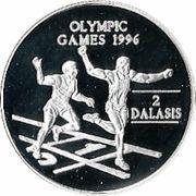 2 Dalasis (Olympics) – reverse