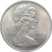 2 Shillings - Elizabeth II (2nd portrait) – obverse