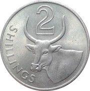 2 Shillings - Elizabeth II (2nd portrait) – reverse