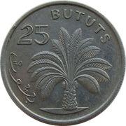 25 Bututs – reverse