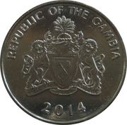 25 Bututs (magnetic) – obverse