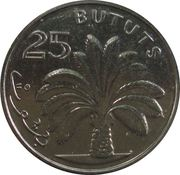 25 Bututs (magnetic) – reverse