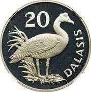 20 Dalasis (Wildlife Conservation) – reverse