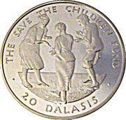 20 Dalasis (Children Dancing) – reverse