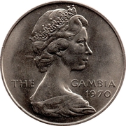 8 Shillings - Elizabeth II (2nd portrait) – obverse