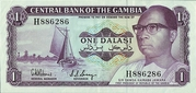 1 Dalasi (Opening of the Central Bank of The Gambia's Building) -  obverse