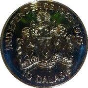 10 Dalasis (Independence) – reverse