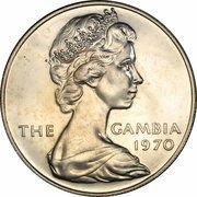 8 Shillings - Elizabeth II (2nd Portrait; Silver Proof Issue) – obverse