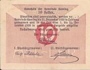10 Heller (Gaming) -  reverse