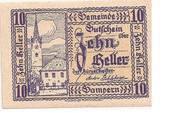 10 Heller (Gampern) -  obverse
