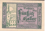 50 Heller (Gampern) -  obverse