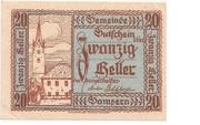 20 Heller (Gampern) -  obverse