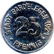 25 Pfennig - Gardelegen – obverse