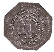 10 Pfennig - Gardelegen – obverse
