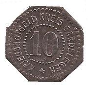 10 Pfennig - Gardelegen – reverse