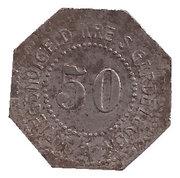 50 Pfennig - Gardelegen – obverse
