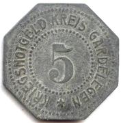 5 Pfennig - Gardelegen – obverse
